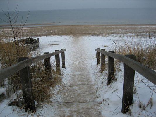 Einsame Ostsee
