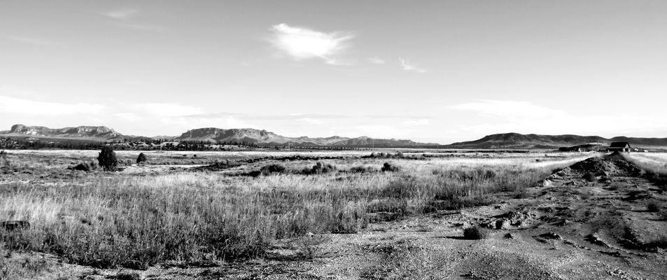 Einsame Ranch am Wegesrand