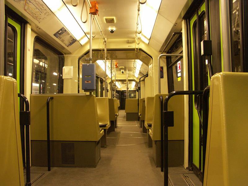 Einsame U-Bahn