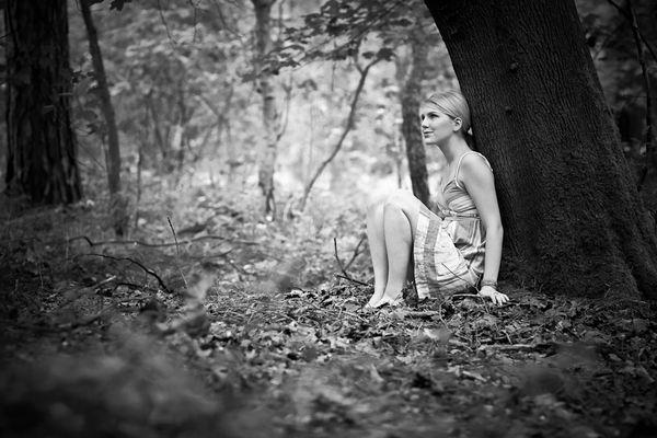 einsame Waldfee