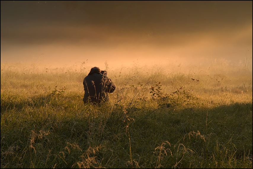 Einsamer Fotograf...