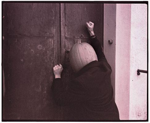 Einsamer Herr Kürbiskopf #2