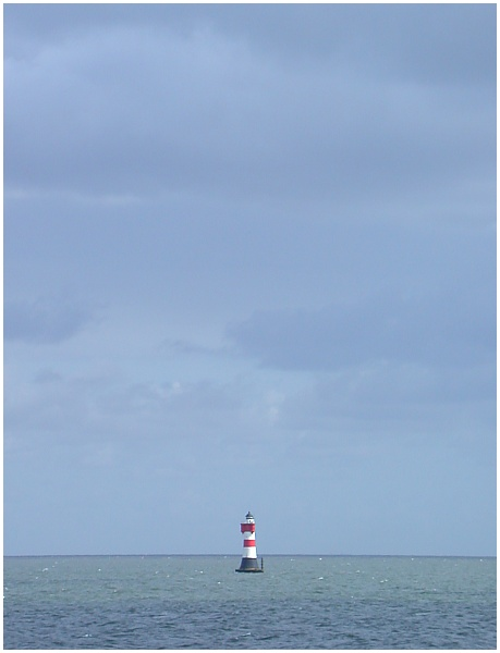 einsamer Leuchtturm