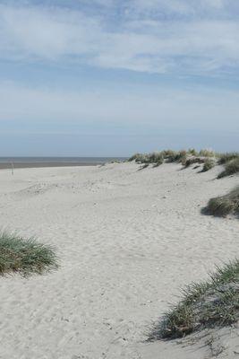 einsamer Nordseestrand bei Schillig