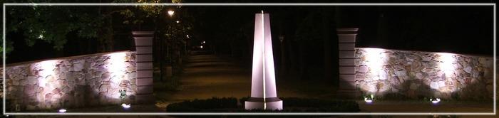 Einsamer Obelisk