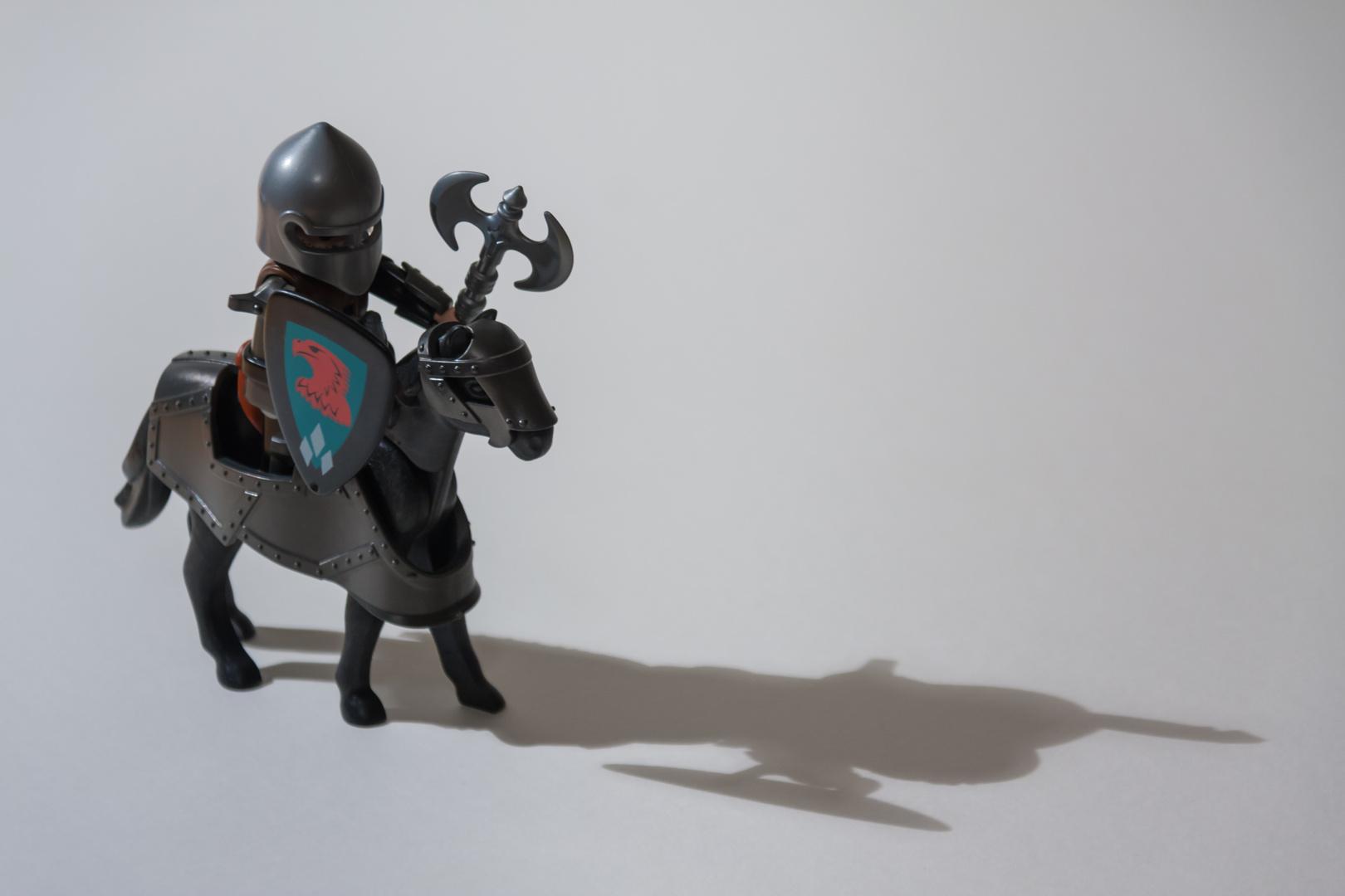 Einsamer Ritter