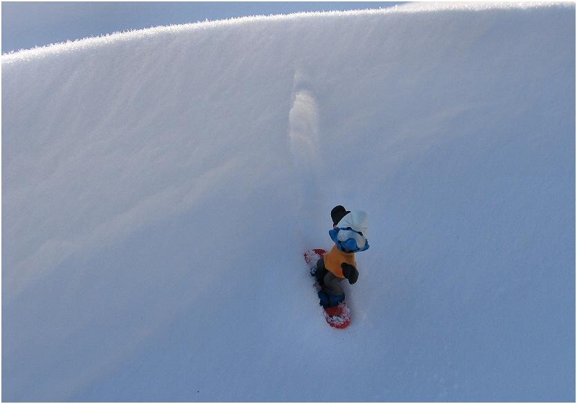 Einsamer Snowboarder (1)