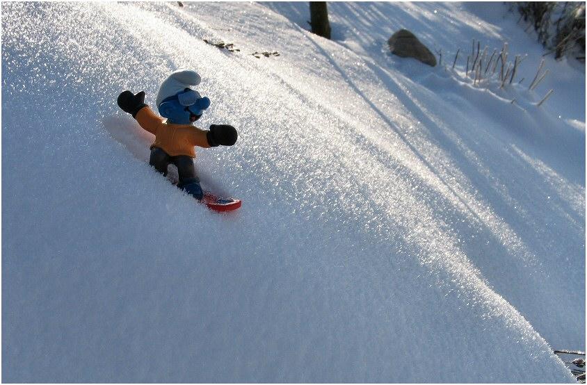 Einsamer Snowboarder (3)