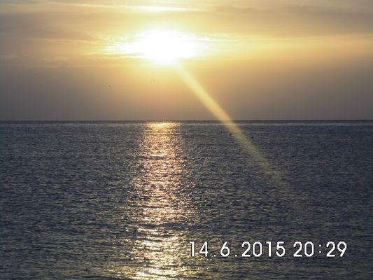 Einsamer Sonnenstrahl
