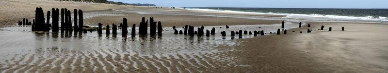 Einsamer Strand auf Sylt