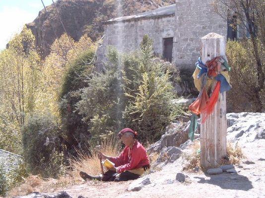 Einsamer Wanderer, Lhasa