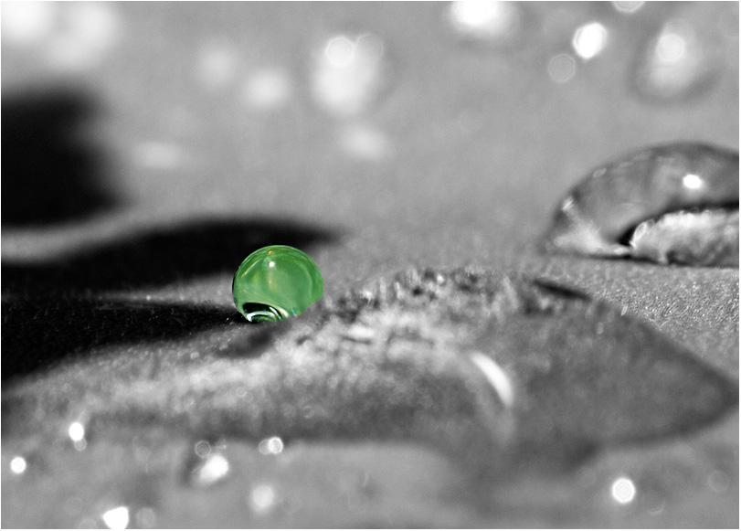 einsamer wasserball