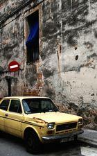 Einsames Auto