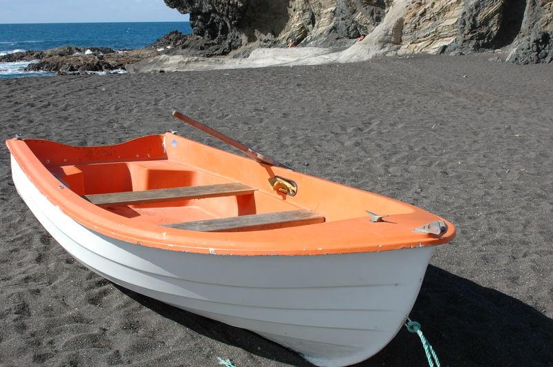 Einsames Boot...