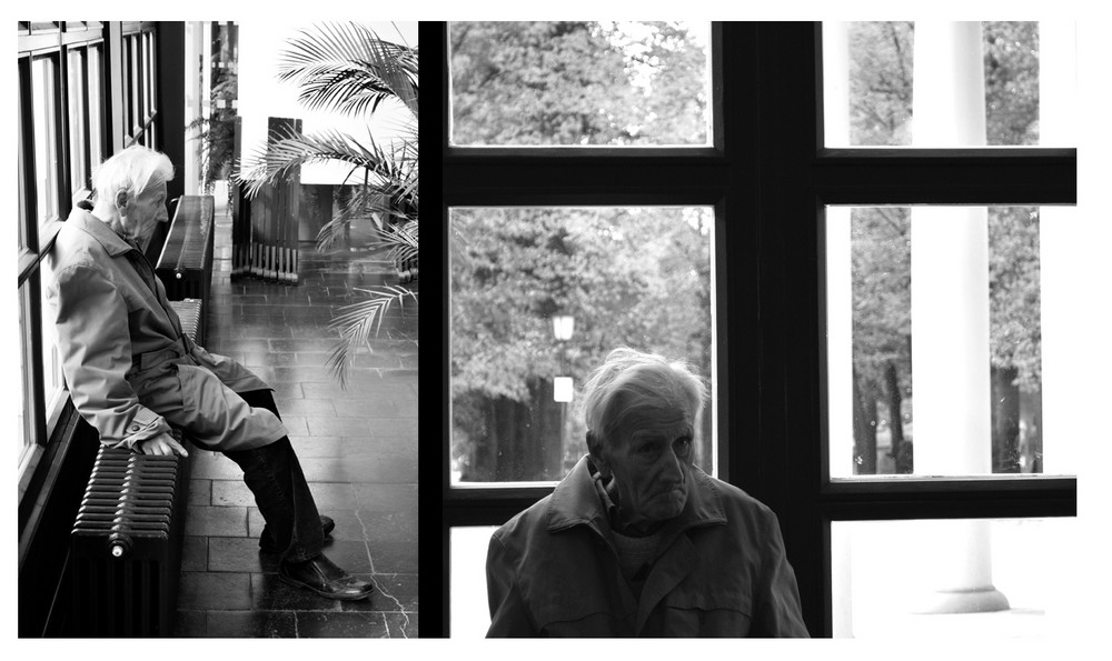 Einsamkeit im Alter! Foto & Bild | streetfotografie