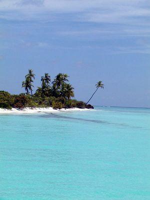 Einsamkeit im Süd-Ari-Atoll (Malediven)