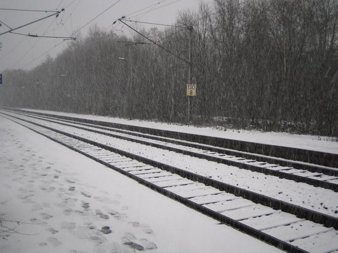 Einsamkeit im Winter