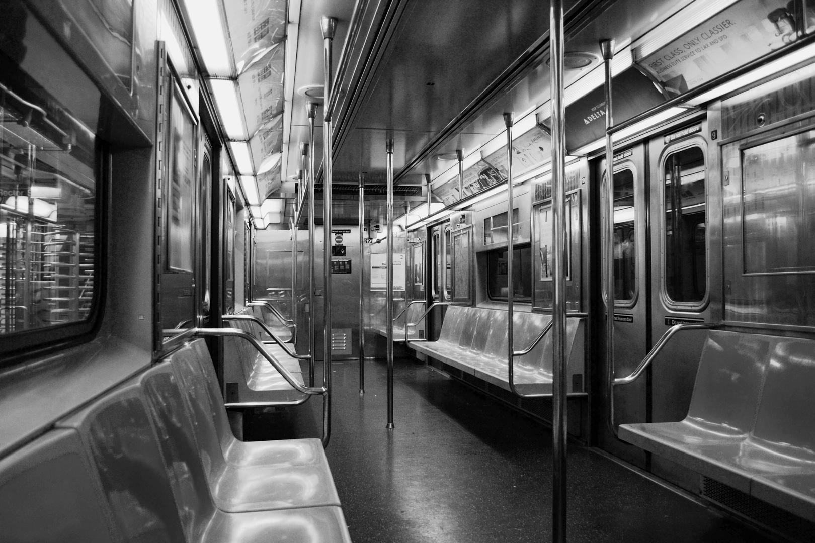 Einsamkeit in der U-Bahn