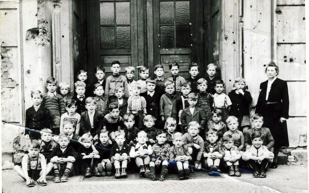 Einschulung 1948