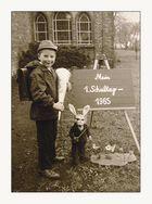 Einschulung 1965