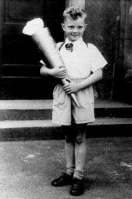 Einschulung im April 1957
