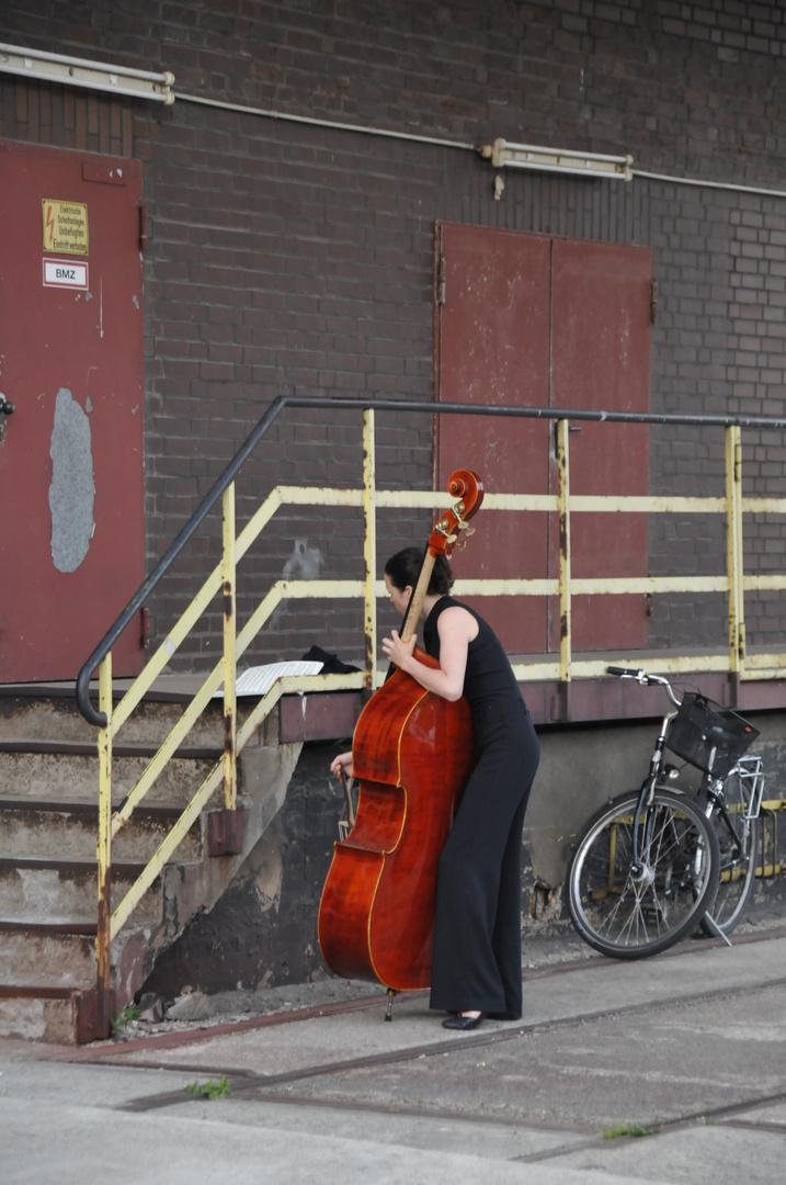 Einspielen vorm Konzert