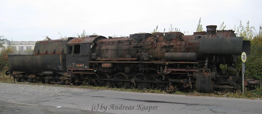 Einst der Stolz auf deutschen Schienen ...