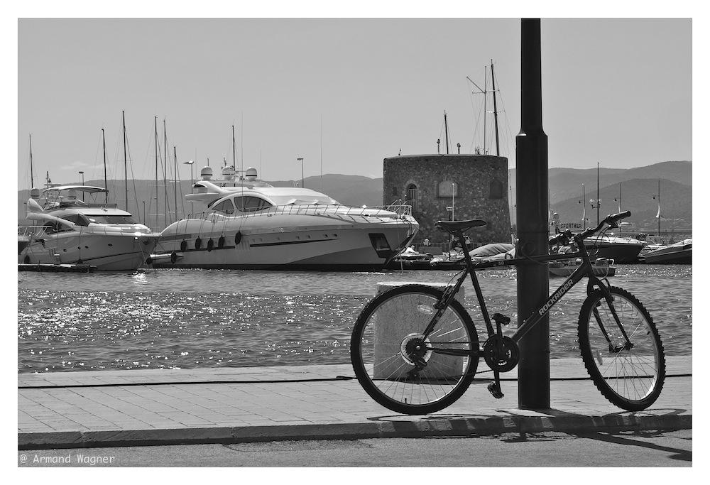 einst stand ich hier am Mittelmeer.....