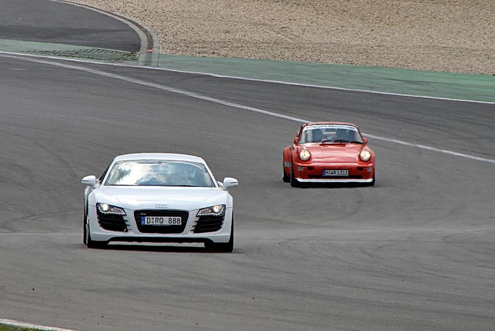Einstellfahrten auf dem Nürburgring