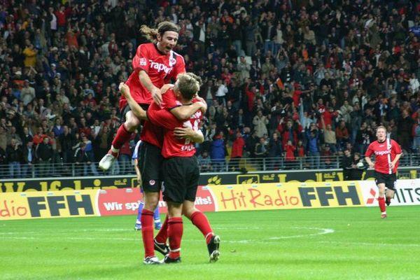 Eintracht Frankfurt im Pokal gegen FC Schalke