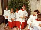 Einweihung des neuen Altars in Kirche zu Piesbach 1983