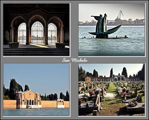 Einzigartig ist die Friedhofsinsel San Michele