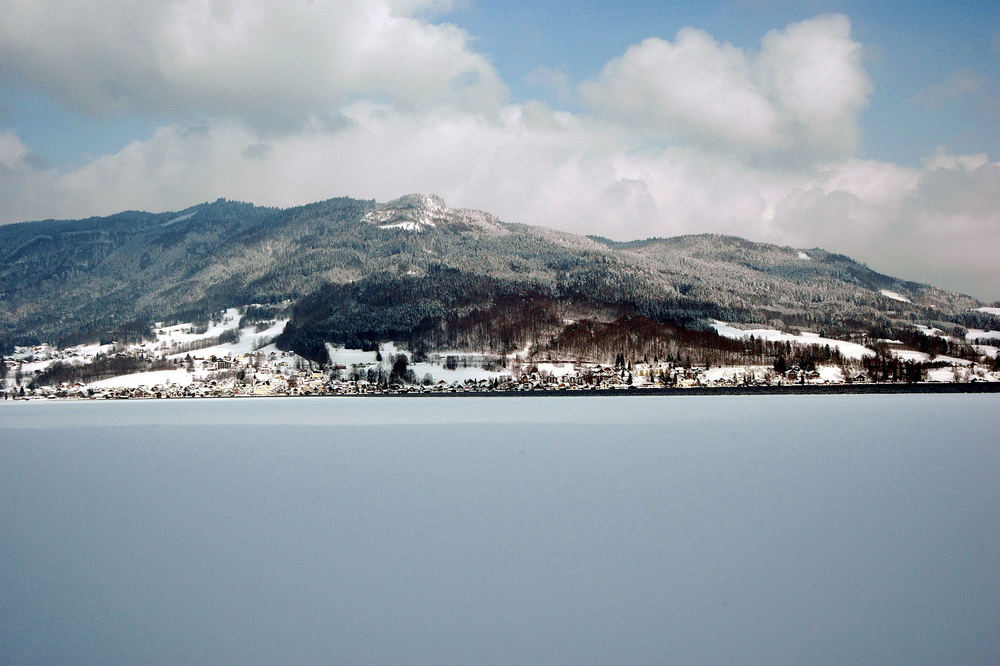 Eis am Attersee....