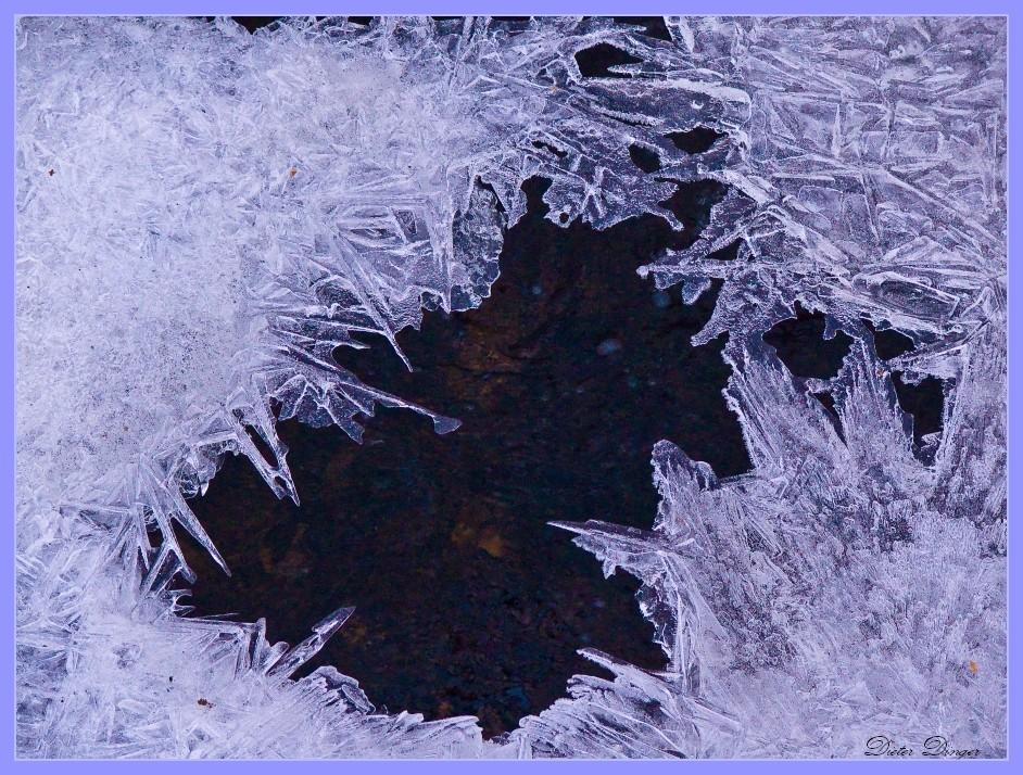 Eis auf dem Getzbach 1