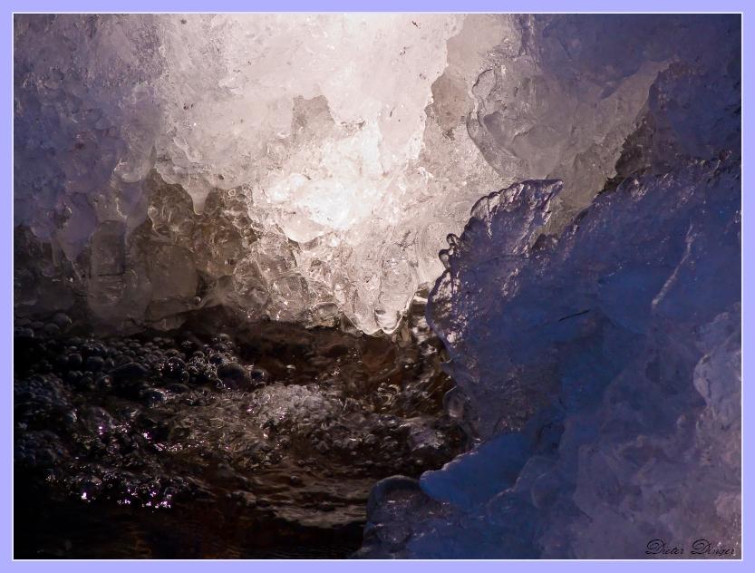 Eis auf dem Getzbach 5