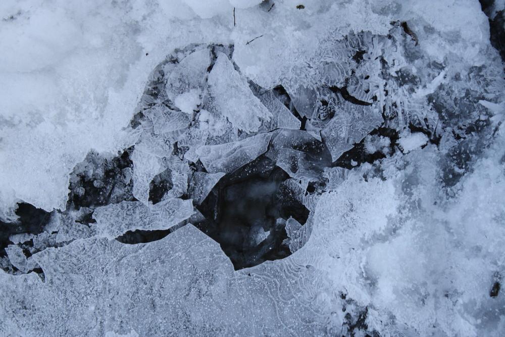 Eis in Dachau bei München