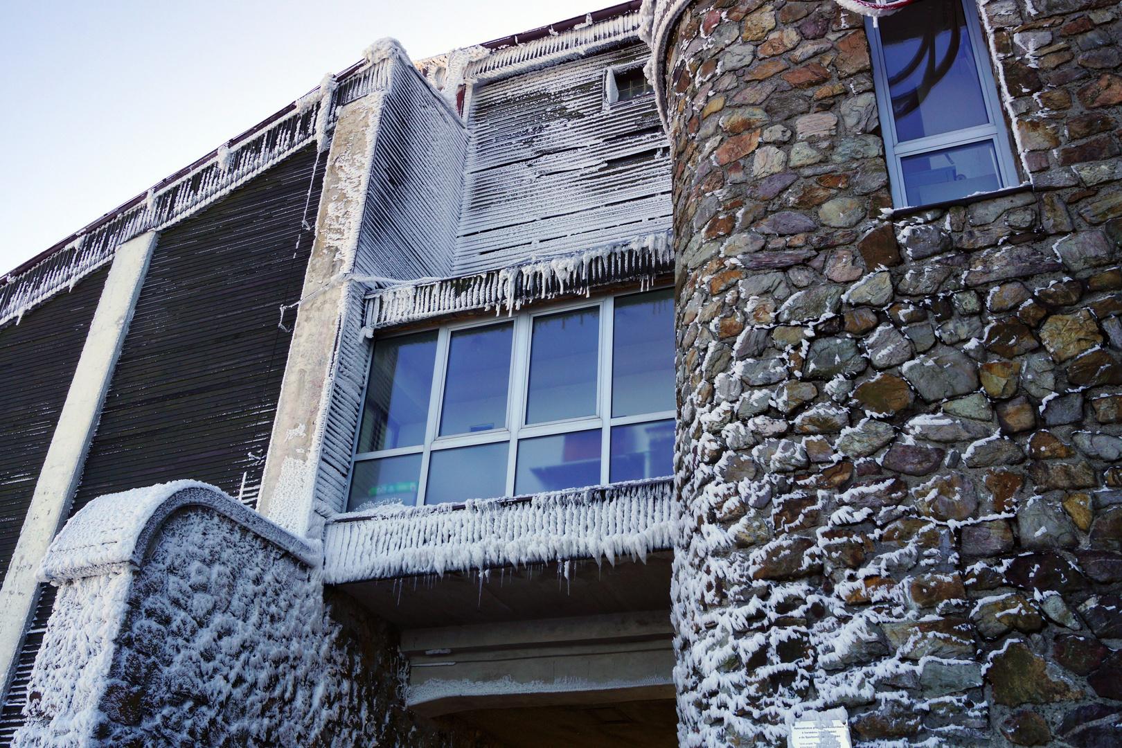 Eis kalt im März