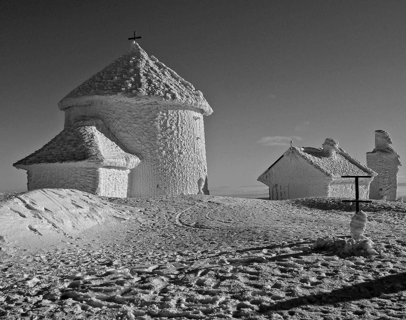 Eis-Kapelle - Schneekoppe