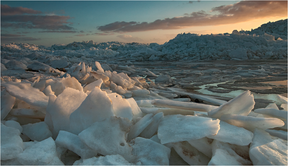 Eis-Landschaft