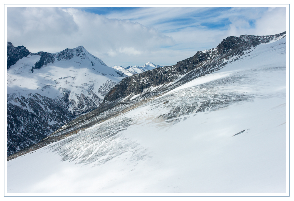 Eis, Schnee und Fels