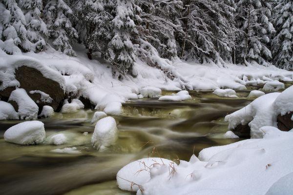 Eis, Schnee und Wasser