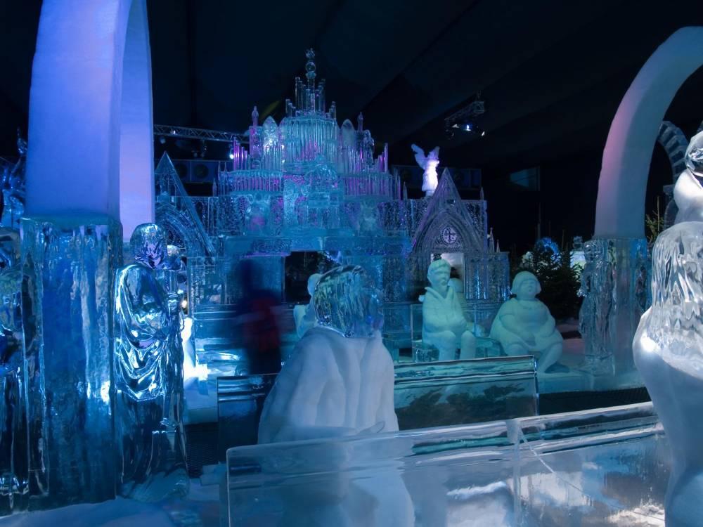 Eis- und Schneeskulpturenfestival #1