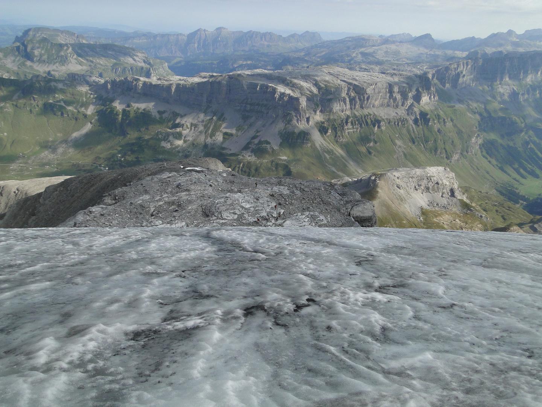 Eis unter den Füssen