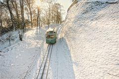 Eisbahn auf den Drachenfels