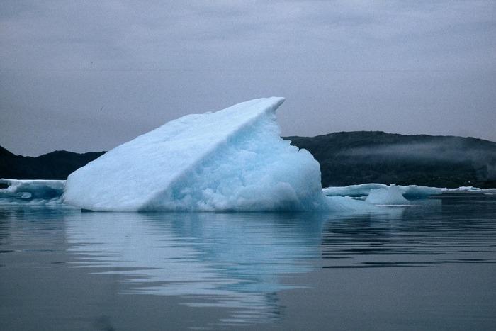 Eisberg aus der Nähe