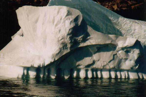 Eisberg im Prins Christian Sund (Grönland)