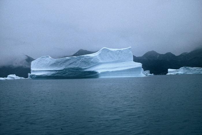 Eisberg im Semilik-Fjord