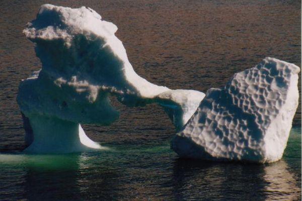 Eisberg in der Diskobucht (Westgrönland)