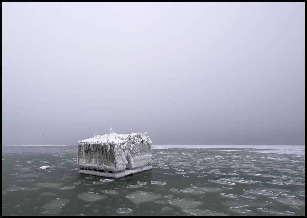 Eisberg in der Ostsee