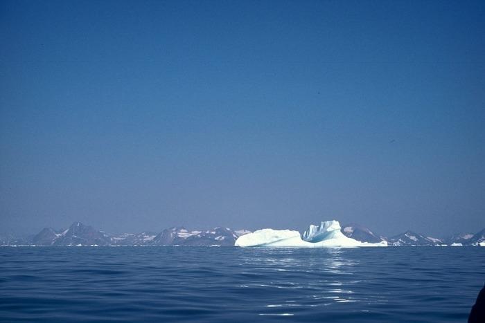 Eisberg vor der Küste Ostgrönlands